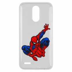 Чехол для LG K10 2017 Spiderman - FatLine