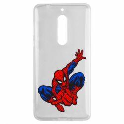 Чехол для Nokia 5 Spiderman - FatLine