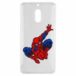 Чехол для Nokia 6 Spiderman - FatLine