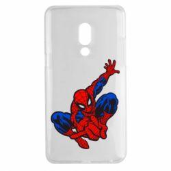 Чехол для Meizu 15 Plus Spiderman - FatLine