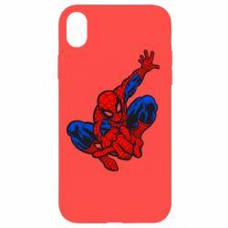 Чехол для iPhone XR Spiderman - FatLine