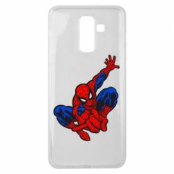 Чехол для Samsung J8 2018 Spiderman - FatLine