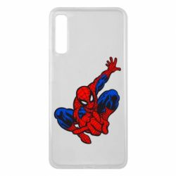 Чехол для Samsung A7 2018 Spiderman - FatLine