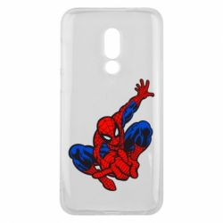 Чехол для Meizu 16 Spiderman - FatLine