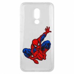 Чехол для Meizu 16x Spiderman - FatLine