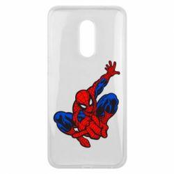 Чехол для Meizu 16 plus Spiderman - FatLine