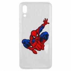 Чехол для Meizu E3 Spiderman - FatLine