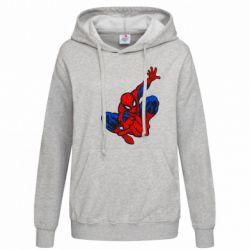Женская толстовка Spiderman - FatLine