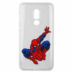 Чехол для Meizu V8 Spiderman - FatLine