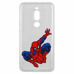 Чехол для Meizu V8 Pro Spiderman - FatLine