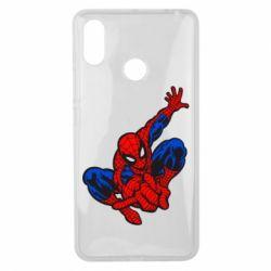Чехол для Xiaomi Mi Max 3 Spiderman - FatLine