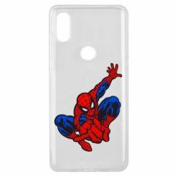 Чехол для Xiaomi Mi Mix 3 Spiderman - FatLine