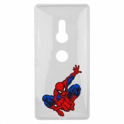 Чехол для Sony Xperia XZ2 Spiderman - FatLine