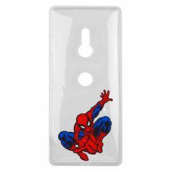 Чехол для Sony Xperia XZ3 Spiderman - FatLine