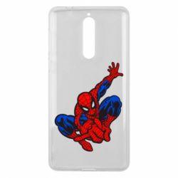 Чехол для Nokia 8 Spiderman - FatLine