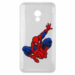 Чехол для Meizu 15 Lite Spiderman - FatLine