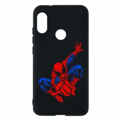 Чехол для Mi A2 Lite Spiderman - FatLine