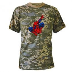 Камуфляжная футболка Spiderman - FatLine