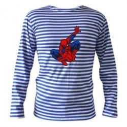 Тельняшка с длинным рукавом Spiderman - FatLine