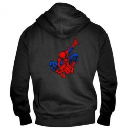 Мужская толстовка на молнии Spiderman - FatLine