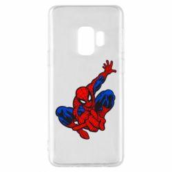 Чехол для Samsung S9 Spiderman - FatLine