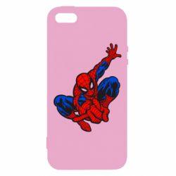 Чехол для iPhone5/5S/SE Spiderman - FatLine
