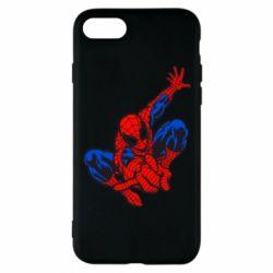 Чехол для iPhone 7 Spiderman - FatLine