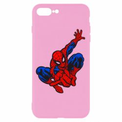 Чехол для iPhone 8 Plus Spiderman - FatLine