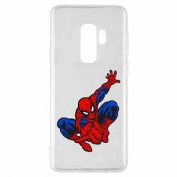 Чехол для Samsung S9+ Spiderman - FatLine