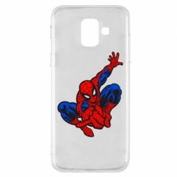Чехол для Samsung A6 2018 Spiderman - FatLine