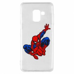 Чехол для Samsung A8 2018 Spiderman - FatLine