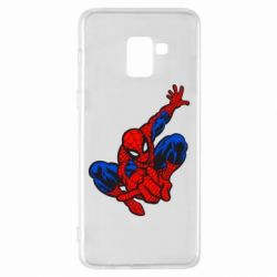 Чехол для Samsung A8+ 2018 Spiderman - FatLine