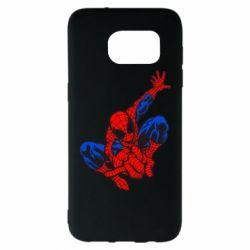 Чехол для Samsung S7 EDGE Spiderman - FatLine