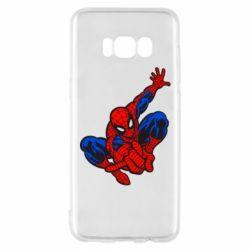 Чехол для Samsung S8 Spiderman - FatLine