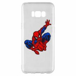 Чехол для Samsung S8+ Spiderman - FatLine