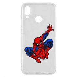 Чехол для Huawei P20 Lite Spiderman - FatLine