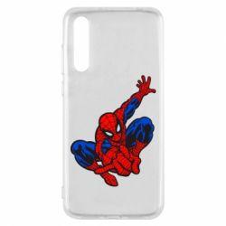 Чехол для Huawei P20 Pro Spiderman - FatLine