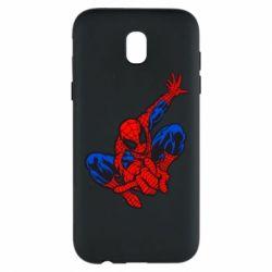 Чехол для Samsung J5 2017 Spiderman - FatLine