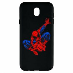 Чехол для Samsung J7 2017 Spiderman - FatLine