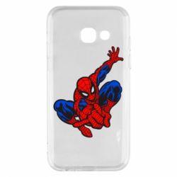 Чехол для Samsung A3 2017 Spiderman - FatLine
