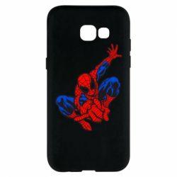 Чехол для Samsung A5 2017 Spiderman - FatLine