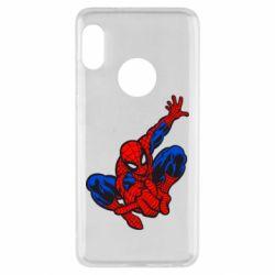Чехол для Xiaomi Redmi Note 5 Spiderman - FatLine