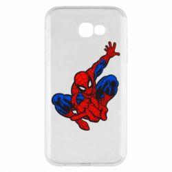 Чехол для Samsung A7 2017 Spiderman - FatLine