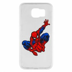 Чехол для Samsung S6 Spiderman - FatLine