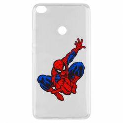 Чехол для Xiaomi Mi Max 2 Spiderman - FatLine