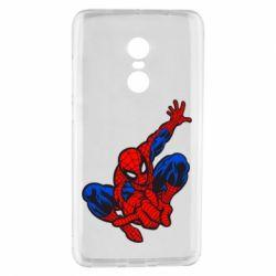 Чехол для Xiaomi Redmi Note 4 Spiderman - FatLine