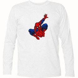 Футболка с длинным рукавом Spiderman - FatLine