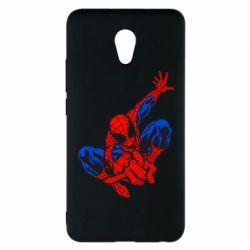 Чехол для Meizu M5 Note Spiderman - FatLine