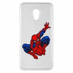 Чехол для Meizu Pro 6 Plus Spiderman - FatLine