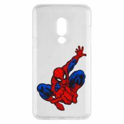 Чехол для Meizu 15 Spiderman - FatLine